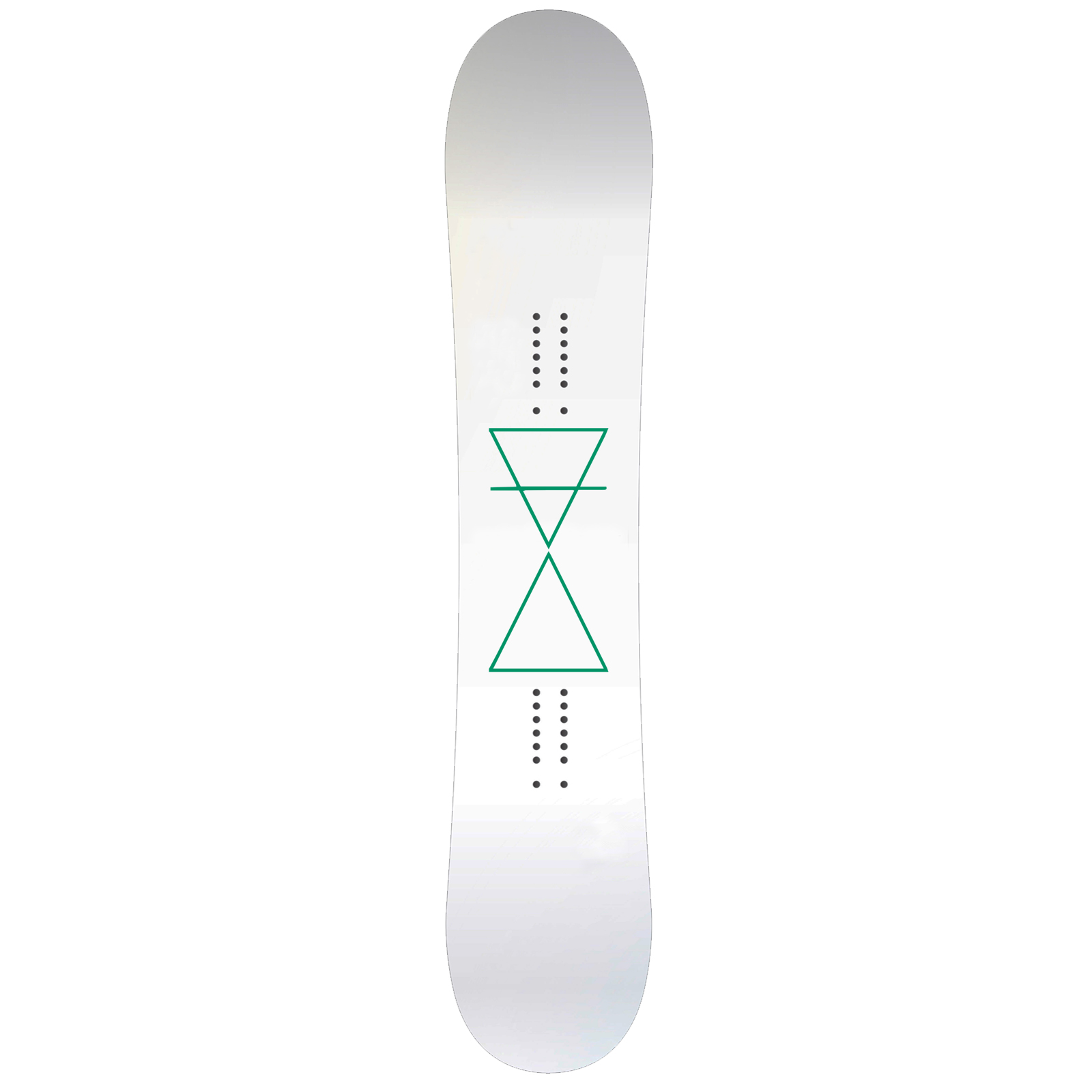 Inverted Triangles Snowboard Sticker All Weather Vinyl Decal